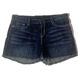Jessica Simpson Jean Shorts Weekender Slouch Fray
